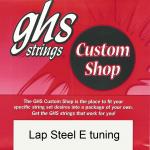 GHS Lap Steel E Tuning