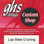 GHS Lap Steel G Tuning